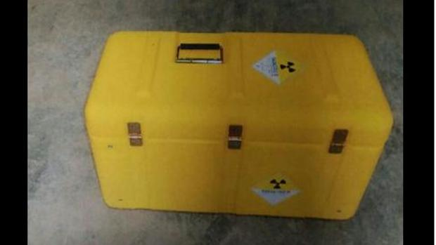 Imagen del maletín desaparecido
