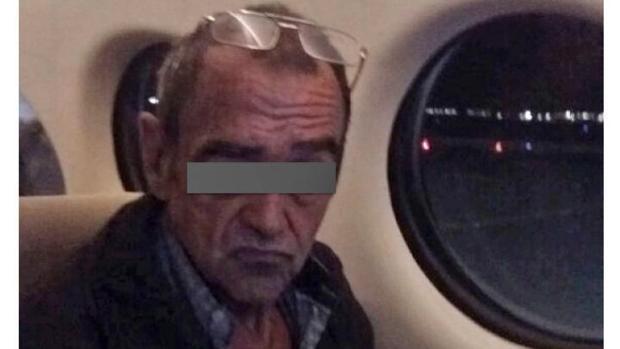Ficha policial del etarra detenido en México