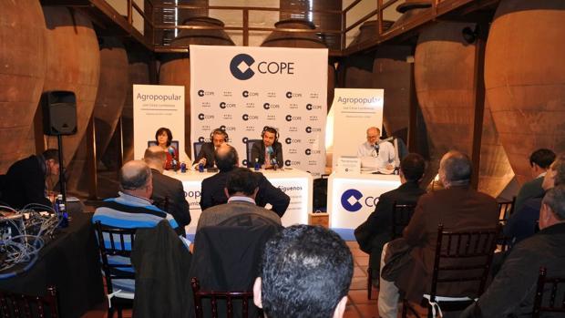 El programa Agropopular de la Cope se ha emitido desde Valdepeñas