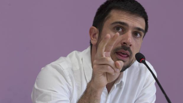 Ramón Espinar hijo, en una imagen del pasado noviembre