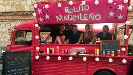 Food truck de rollito madrileño, uno de los participantes