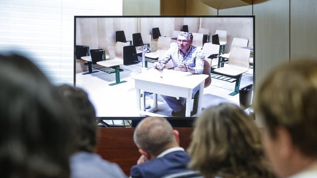 Francisco Granados, en una declaración ante el juez