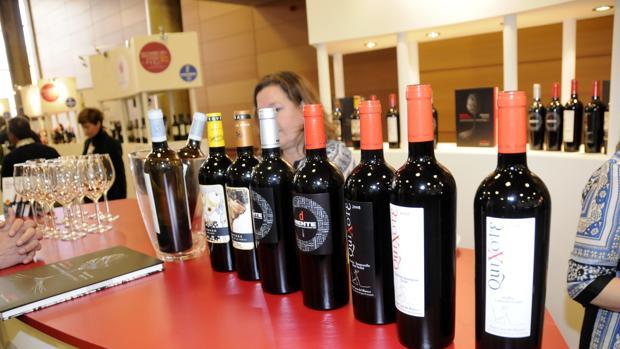 Expositor de vinos de Castilla-La Mancha