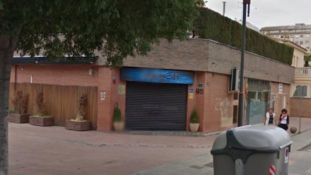Captura de Google Maps del pub de Lérida