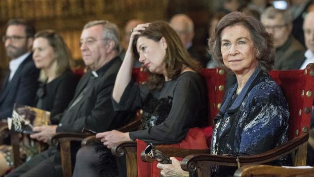 La Reina Sofía, en el concierto benéfico de Palma