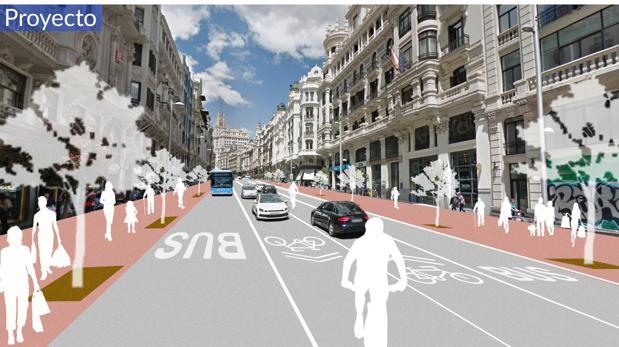 Las Obras En Gran Via Y Plaza De Espana Comenzaran En Enero De 2018