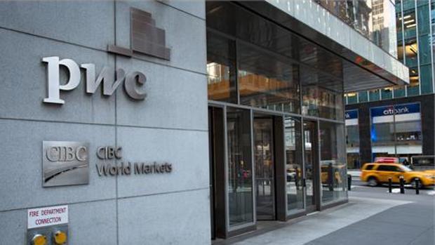 Sede de PwC en Nueva York, donde Fernando Clavijo mantiene esta semana un encuentro con inversores