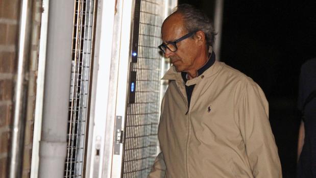Edmundo Rodríguez Sobrino, uno de los detenidos y considerado hombre fuerte de González
