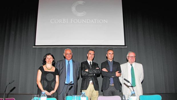 Presentación de la Corbi Foundation el pasado julio en La Coruña