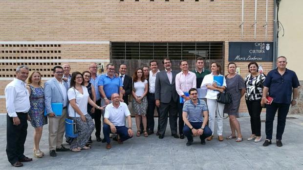 El Comité de Dirección del PP, en Bargas