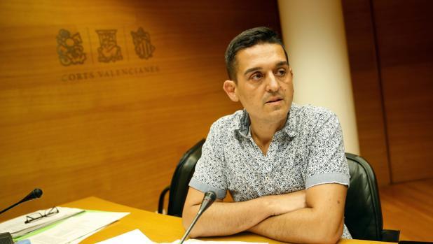 Imagen de archivo del senador de Compromís Carles Mulet