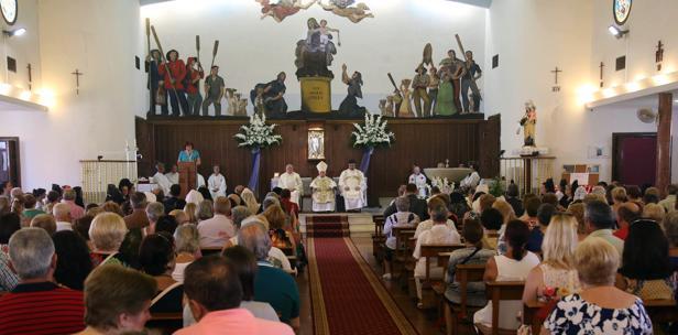 Imagen de la celebración en Sagunto