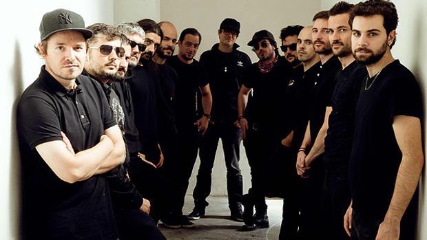 Los integrantes de «Bobby Martínez meets AP Big Band»