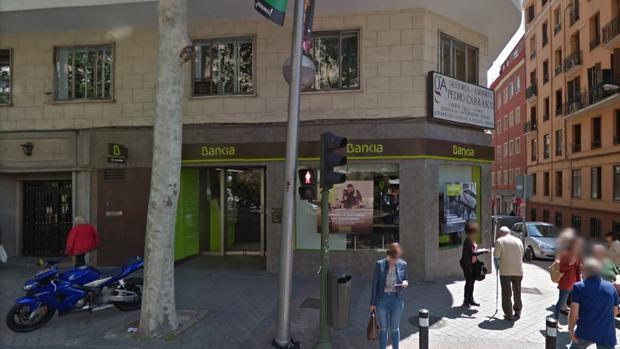 Sucursal de Bankia de la calle Doctor Esquerdo