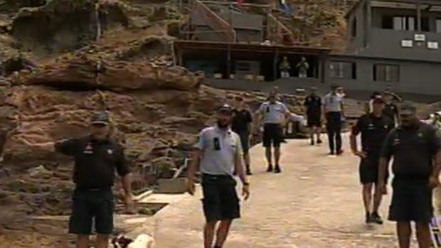Autoridades policiales de Portugal este verano en islas Salvajes