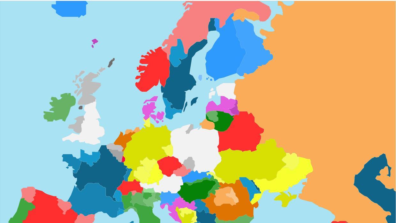 El mapa que muestra por qué ningún país europeo reconocerá la independencia de Cataluña