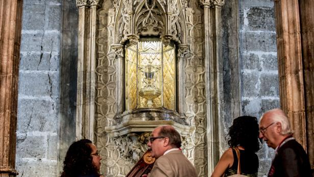 Imagen de la capilla tomada este jueves