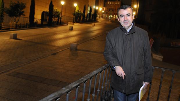 El escritor Lorenzo Silva, en una foto de archivo en Toledo