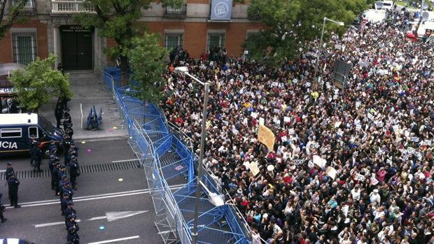 Protesta «Rodea el Congreso», en 2012