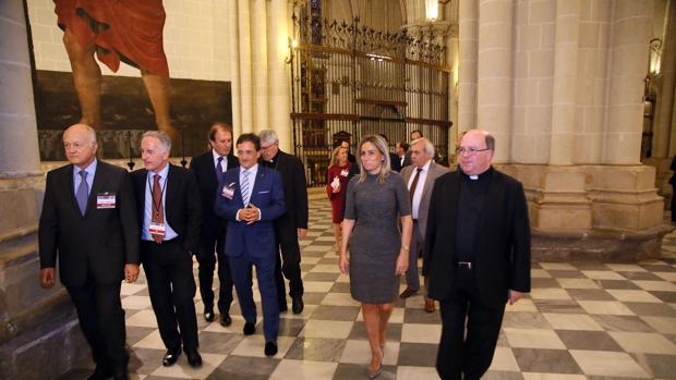 La inauguración tuvo lugar en la catedral