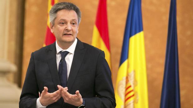 Gilbert Saboya, ministro de Economía de Andorra