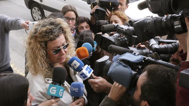 Diana López-Pinel, madre de Diana Quer, ha mostrado a través de su abogado su apoyo a la UCO