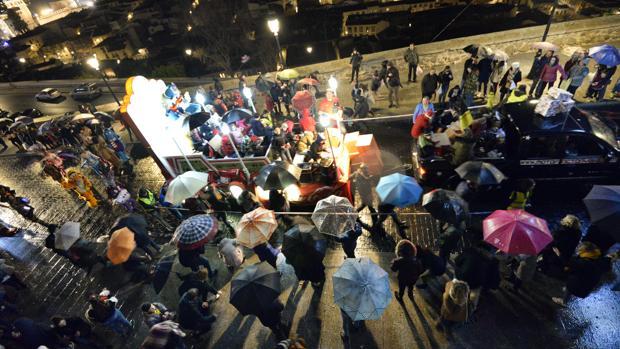 Cabalgata de Reyes Magos en Toledo