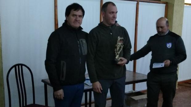 Bautista Blázquez, campeón de caza menor con perro en Albacete