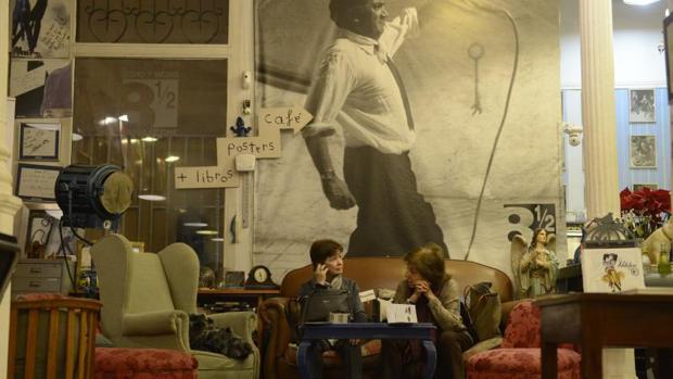 Librería Ocho y Medio, en Madrid