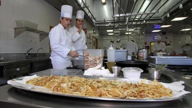 Curso de gastronomía en el CDT de Alicante