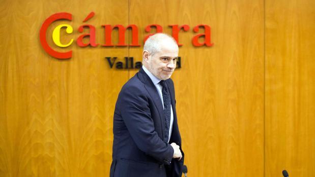 El presidente de la Cámara de Comercio de Valladolid, Víctor Caramanzana