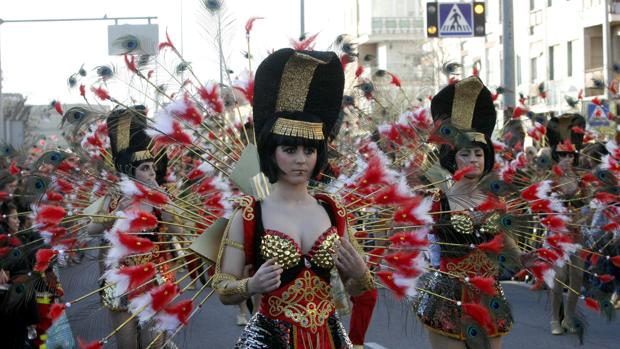 Las calles y plazas de la región se llenarán de color durante los días del carnaval
