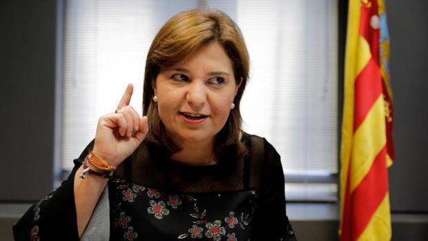 La presidenta del Partido Popular de la Comunidad Valenciana (PPCV), Isabel Bonig