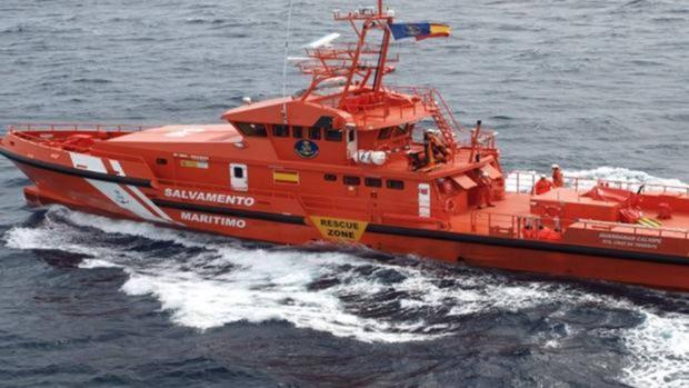 Imagen de un buque Salvamento Marítimo