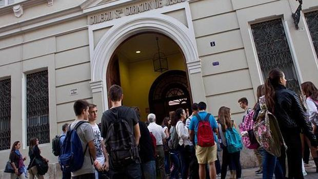 Imagen de archivo tomada en un colegio de la ciudad de Valencia