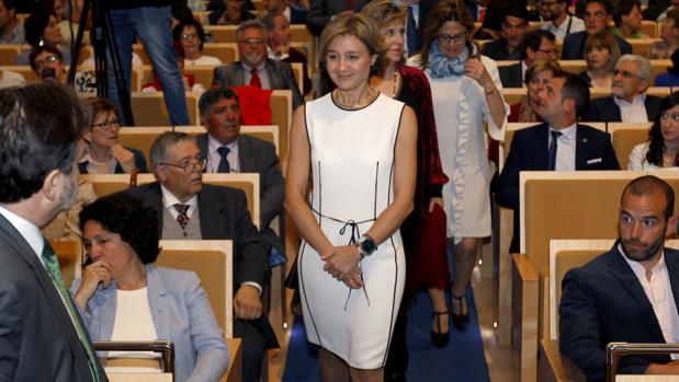 Isabel García Tejerina asiste a la entrega de los premios Surcos en Zamora