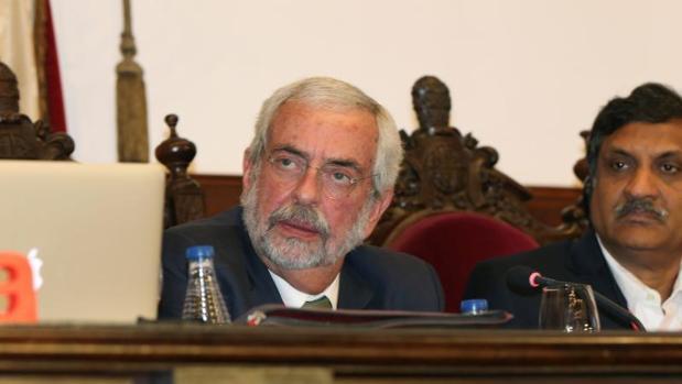 El rector de la Universidad Nacional Autónoma de México, Enrique Luis Graue