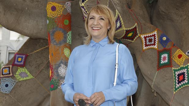 La actriz y directora teatral Blanca Portillo recibe esta noche el Premio de Honor del Festival de Cine de Alicante
