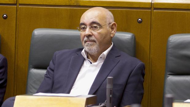 El portavoz del PSE en el Parlamentovasco, José Antonio Pastor