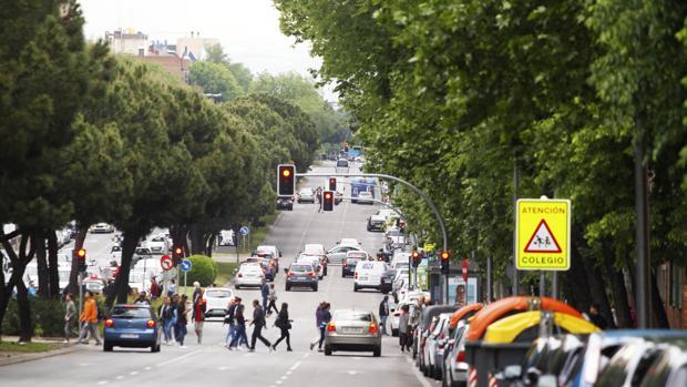 Imagen de la calle Hermanos García Noblejas en Madrid