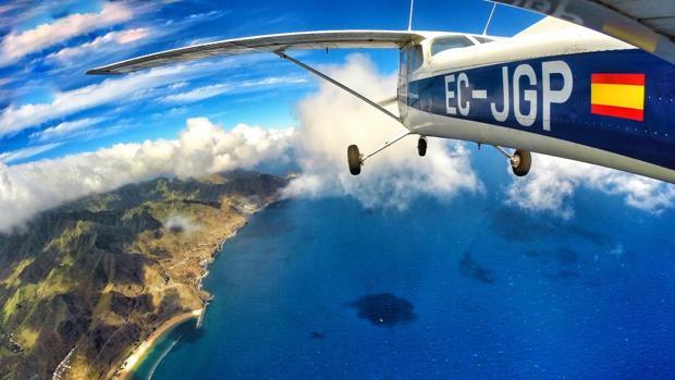 La costa en las islas Canarias
