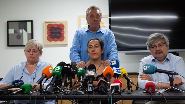 Núria, Roberto, Ana y Rubén, víctimas del atetnado de Barcelona y Cambrils, ayer en Barcelonas