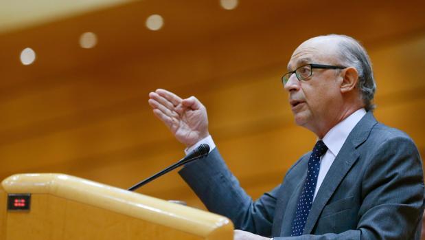 El antiguo ministro de Hacienda, Cristóbal Montoro