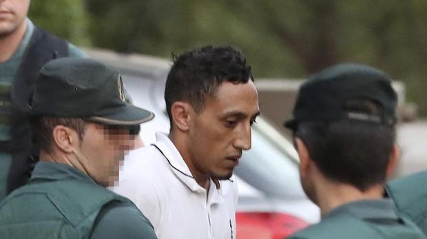 Driss Oukabir, uno de los tres procesados por los atentados yihadistas de Cataluña en 2017