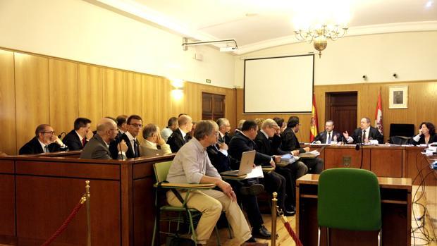 La Audiencia Provincial de Valladolid, durante el juicio por el caso de la modificación del Plan General de Ordenación Urbana (PGOU) de Valladolid