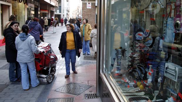Calle Benavente de Zamora