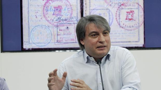 El presidente de la Asociación Salvar el Archivo, Policarpo Sánchez, en una imagen de archivo