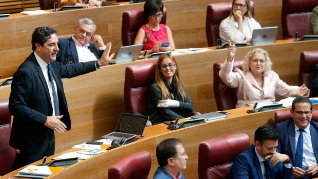 Un momento de las intervenciones sobre la recuperación del derecho civil valenciano