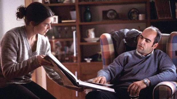Laia Marull y Luis Tosar, en una de las escenas de «Te doy mis ojos», cinta rodada en Toledo