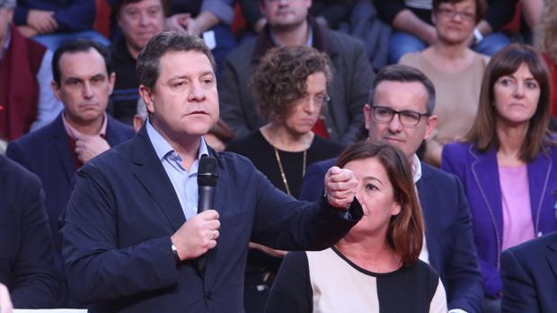 Emiliano García-Page, en el Comité Federal del PSOE